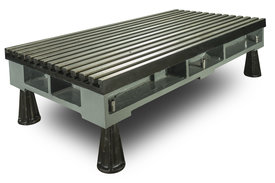 T-Slotted Floor / Bed Plates / Base Plates