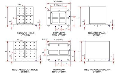 Tooling Blocks (Plain Type)
